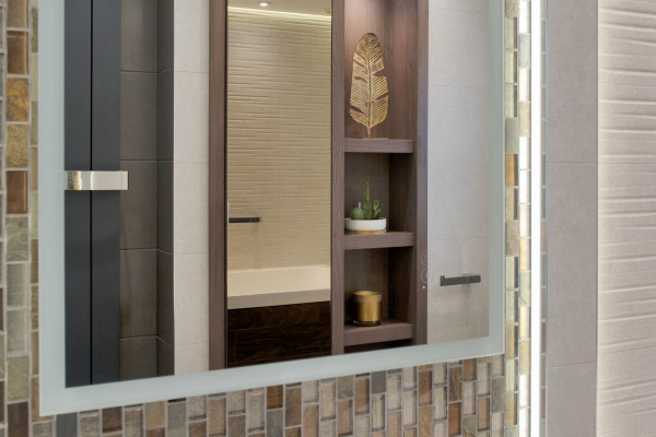 Two modern bathrooms